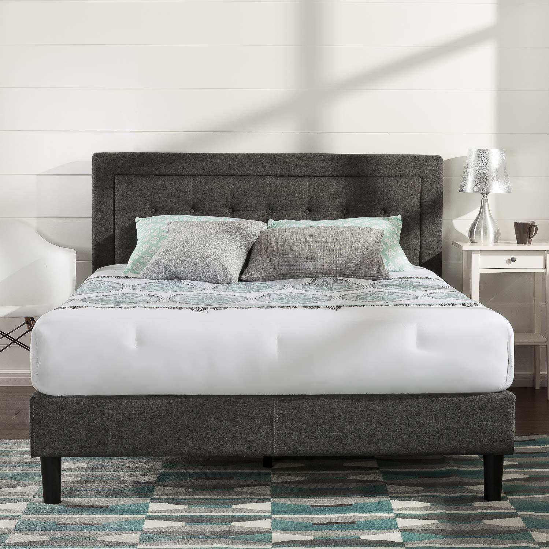 Zinus Dachelle Upholstered Platform Bed Frame