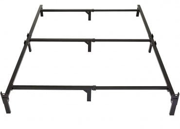 Compact bed frame