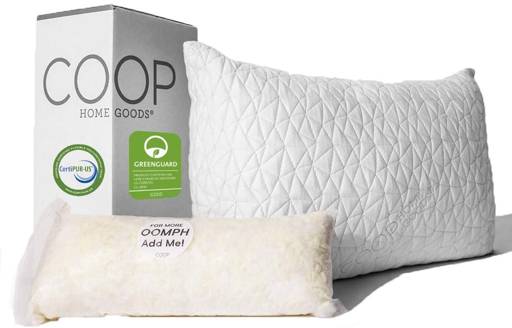 Coop Home Goods – Premium Adjustable Loft Pillow