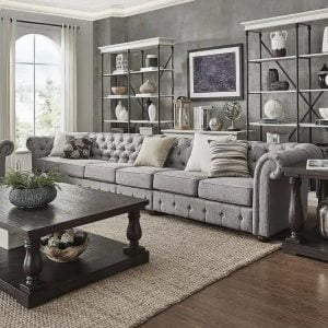 Knightsbridge Tufted Sofa