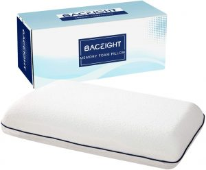 Memory Foam Pillow, Breathable & Supportive Bed Pillows for Sleeping
