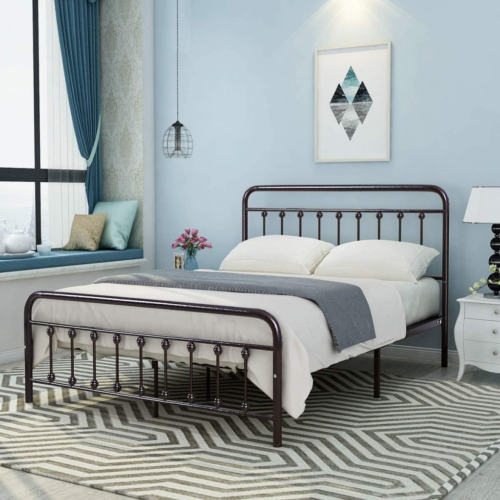 headboard metal bed frame